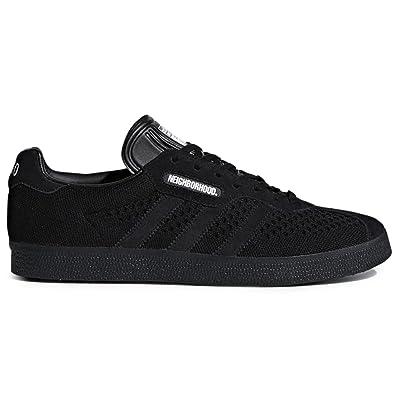 san francisco 017d4 a7776 adidas Mens Gazelle Super NBHD Neighborhood Black Fabric Size 8