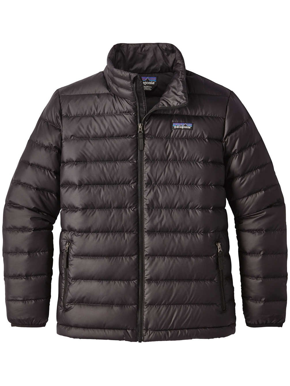 Patagonia Boys' Down Sweater Jacket (Black, S) by Patagonia