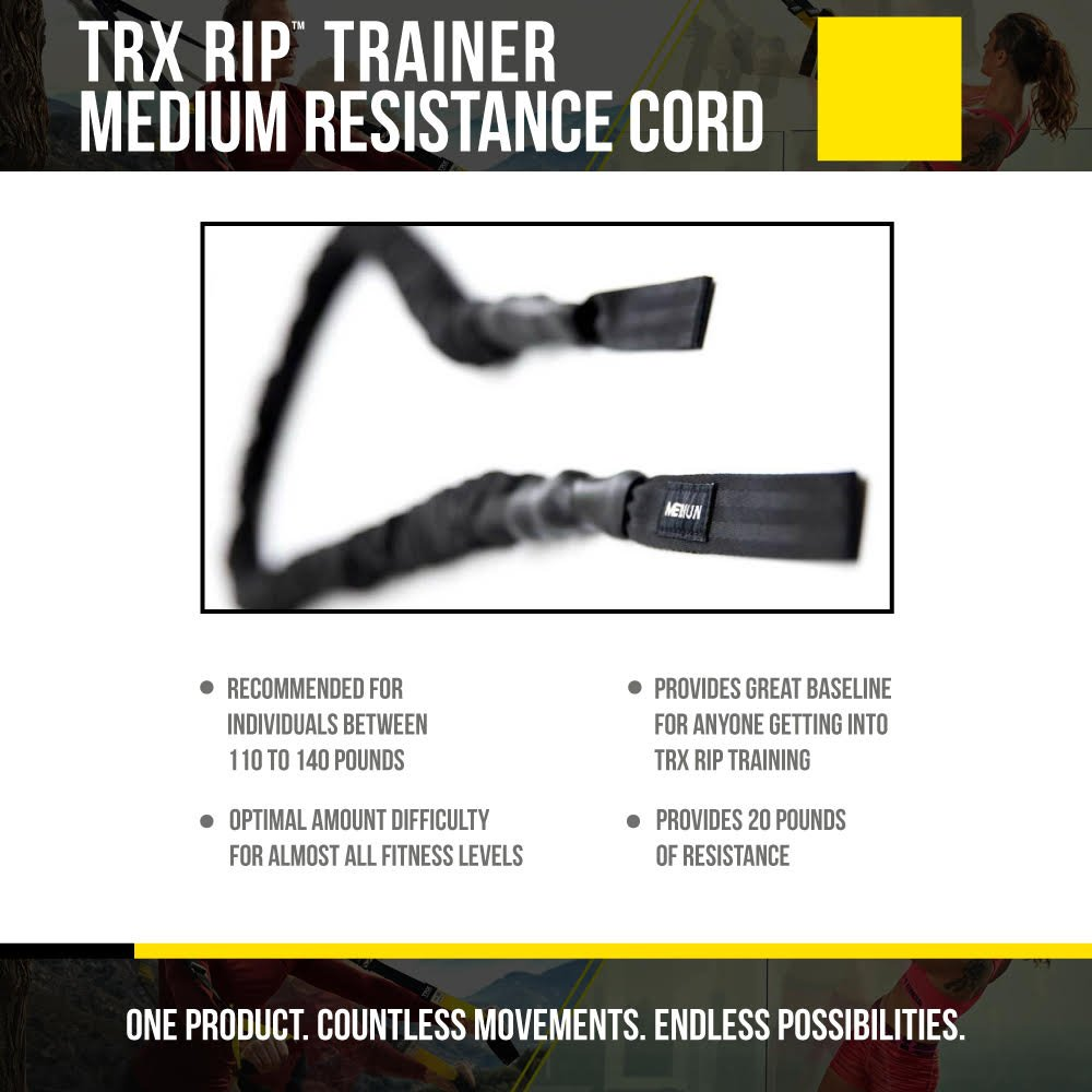 offre un entra/înement intensif pour tout le corps RIP Trainer X-Heavy Resistance Cord Entra/înement TRX