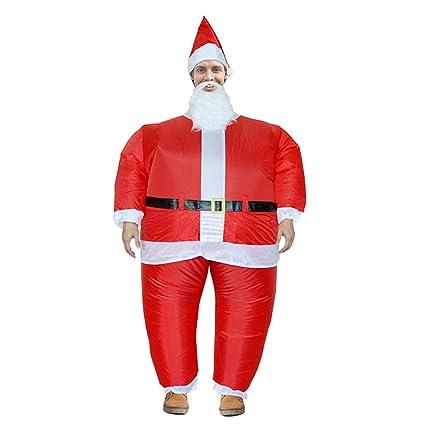 Amazon.com: LOVEPET - Disfraz hinchable de Papá Noel para ...