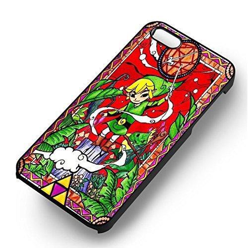 Colorful Stained Glass pour Coque Iphone 6 et Coque Iphone 6s Case (Noir Boîtier en plastique dur) N0X9KD