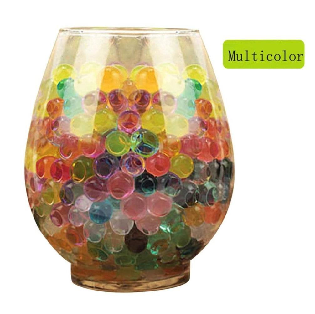 Coohole 3000 PCS Water Bullet Balls Water Beads Mud Grow Magic Jelly Balls Kid Toy