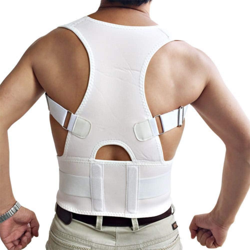 RXBGPZBBJ Corrector de Postura Ortopédico Ajustable Unisex Volver Corrección De La Postura del Hombro Espalda Apoyo Lumbar Enderezar Las Correas De Corsé Corsés