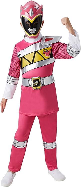 Rubies - Disfraz infantil oficial de Ranger Rosa de la serie Power ...