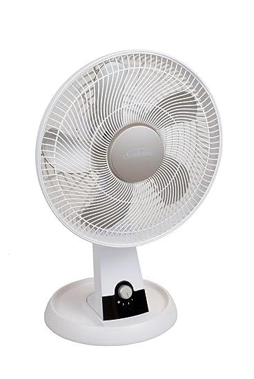 Sunbeam SDF1200 U 12 Inch 3 Speed Oscillating Table Fan