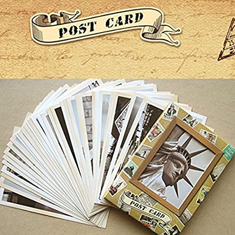 Amazon 32pcs cherished classical famous europe building 32pcs cherished classical famous europe building greeting card postcard cards poscards m4hsunfo