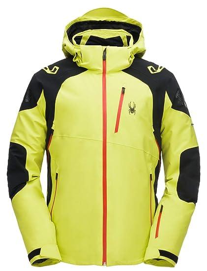 e3aac88cbd Amazon.com   Spyder MONTEROSA Men s Ski Jacket - Yellow XL - XL ...