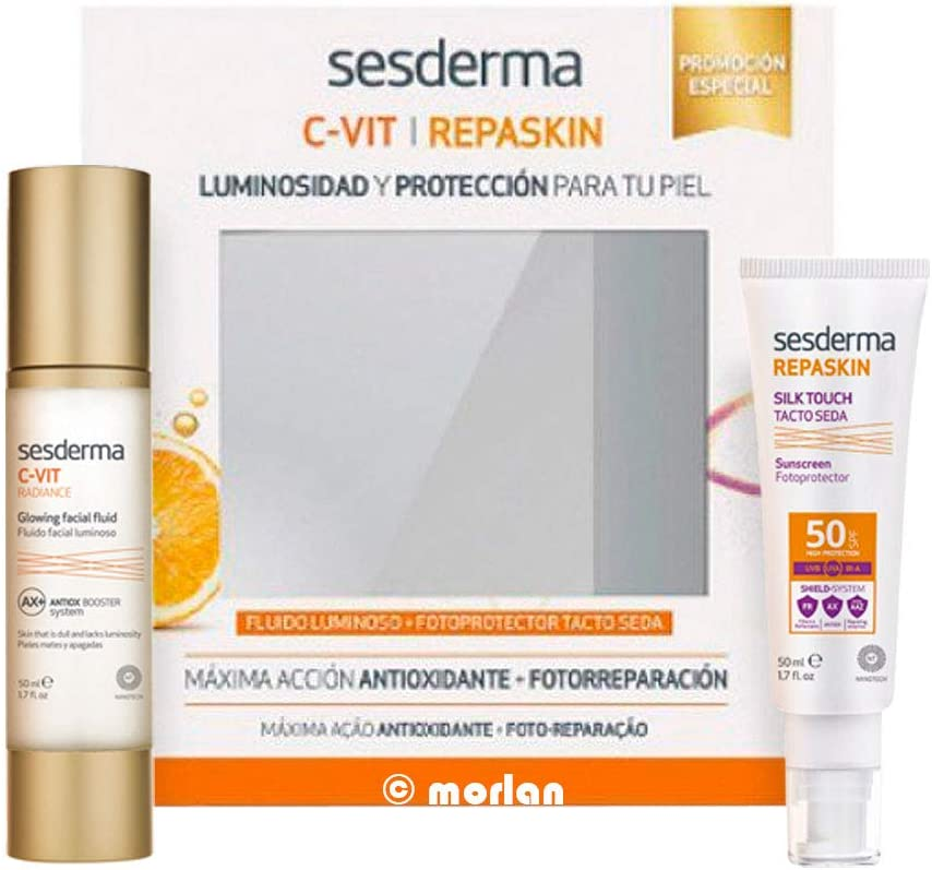 Sesderma C Vit Radiance Fluido Luminoso 50ml Set 2 Piezas 2018 ...