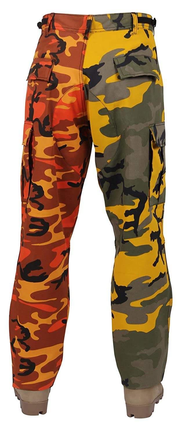 Amazon.com  Rothco Two-Tone Camo BDU Pants  Sports   Outdoors bba1b06f1de