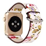 Iwatch band, Lotus.flower Peony Ink painting