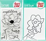 Avery Elle - Magnolia Clear Stamps and Dies Set - 2 item bundle