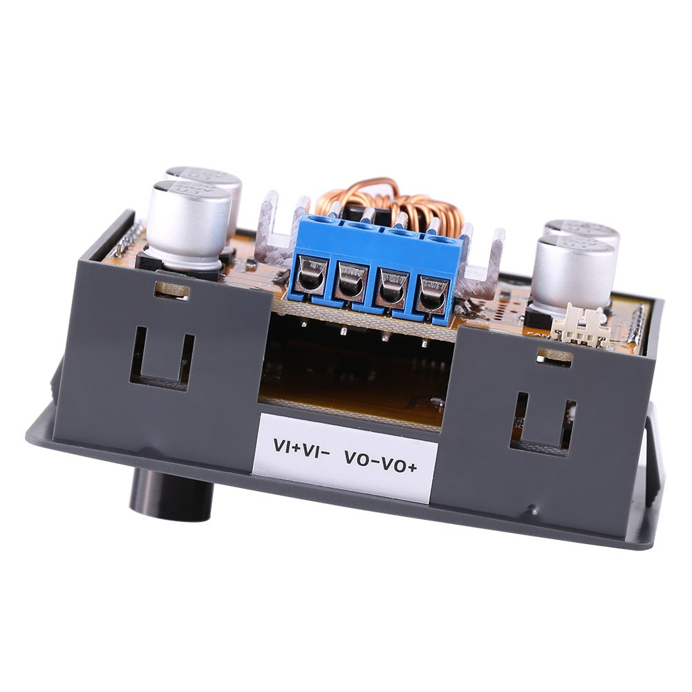 Adjustable DC-DC Converter DC Buck Converter 5A Step-Down Power Source Buck Step Down Regulator Module 6V-32V to 0-32v LCD Display CC CV