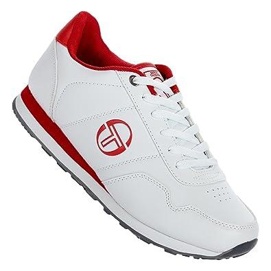 Sergio Tacchini GASPARI White Red Men Sneakers Shoes: Amazon.co.uk: Shoes &  Bags