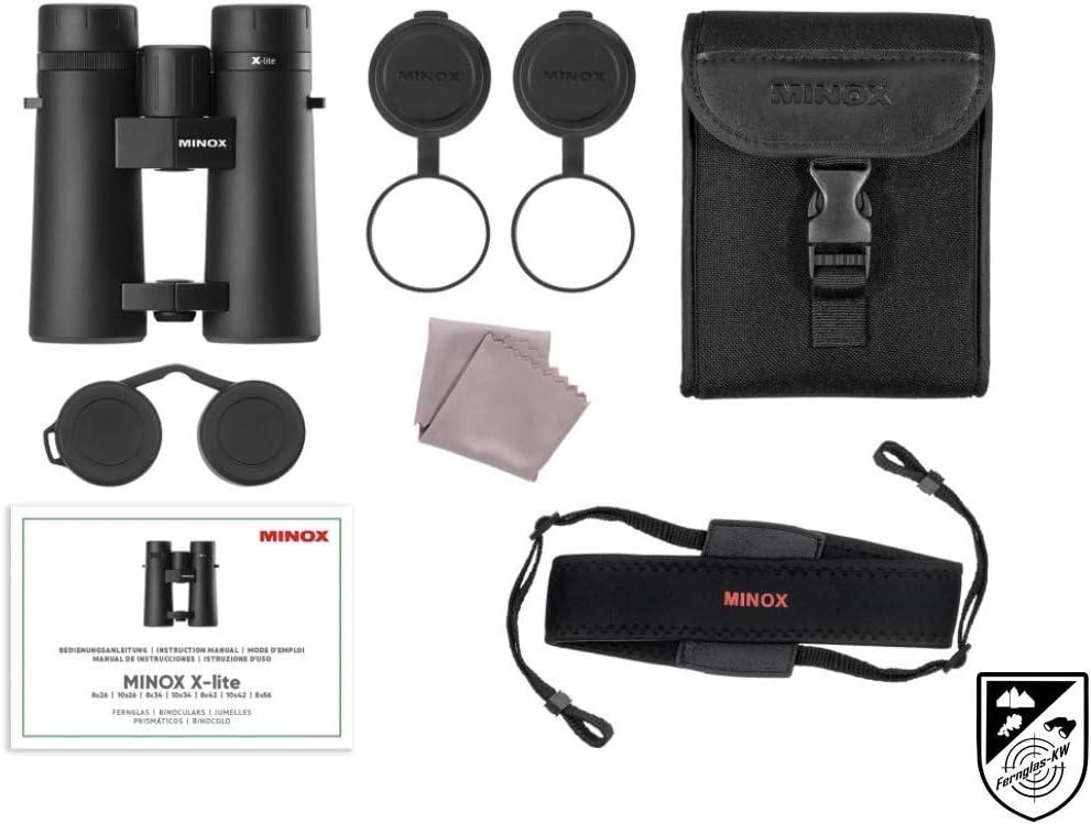 Minox 80407326 Fernglas Xlite 10x26 Neuheit f/ür Reviergang und Outdooraktivit/ät