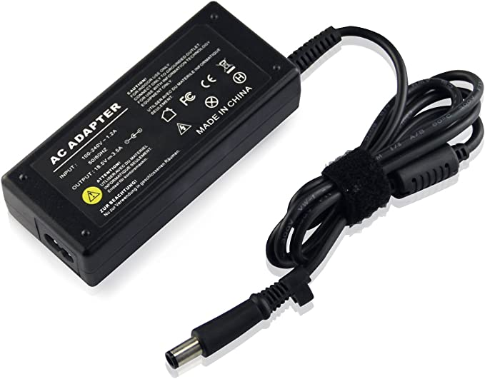 UKOUTLET® 18.5v 3.5a 65w Power Supply For HP Compaq Presario CQ60 ...