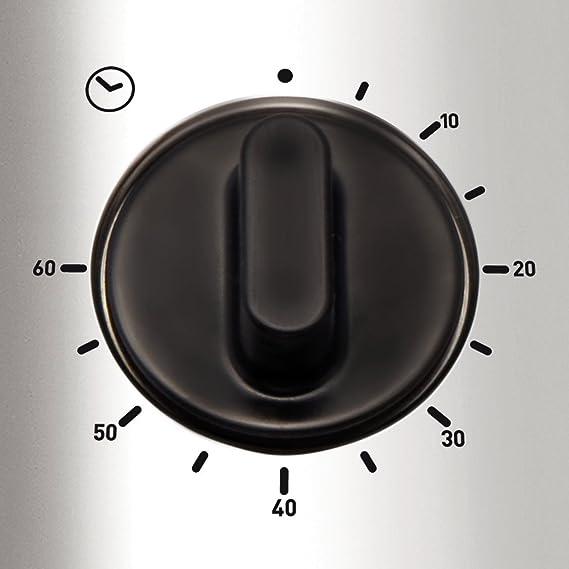 Tefal Filtra Pro INOX & Design 3 L FR404730-Freidora, Color Gris, 2300 W, Acero Inoxidable, plástico, Negro, Plata