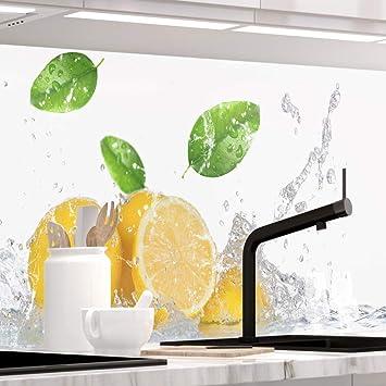 1.5mm Hart-Material Küchenrückwand STEINWAND ASHLAR jeder Untergrund möglich