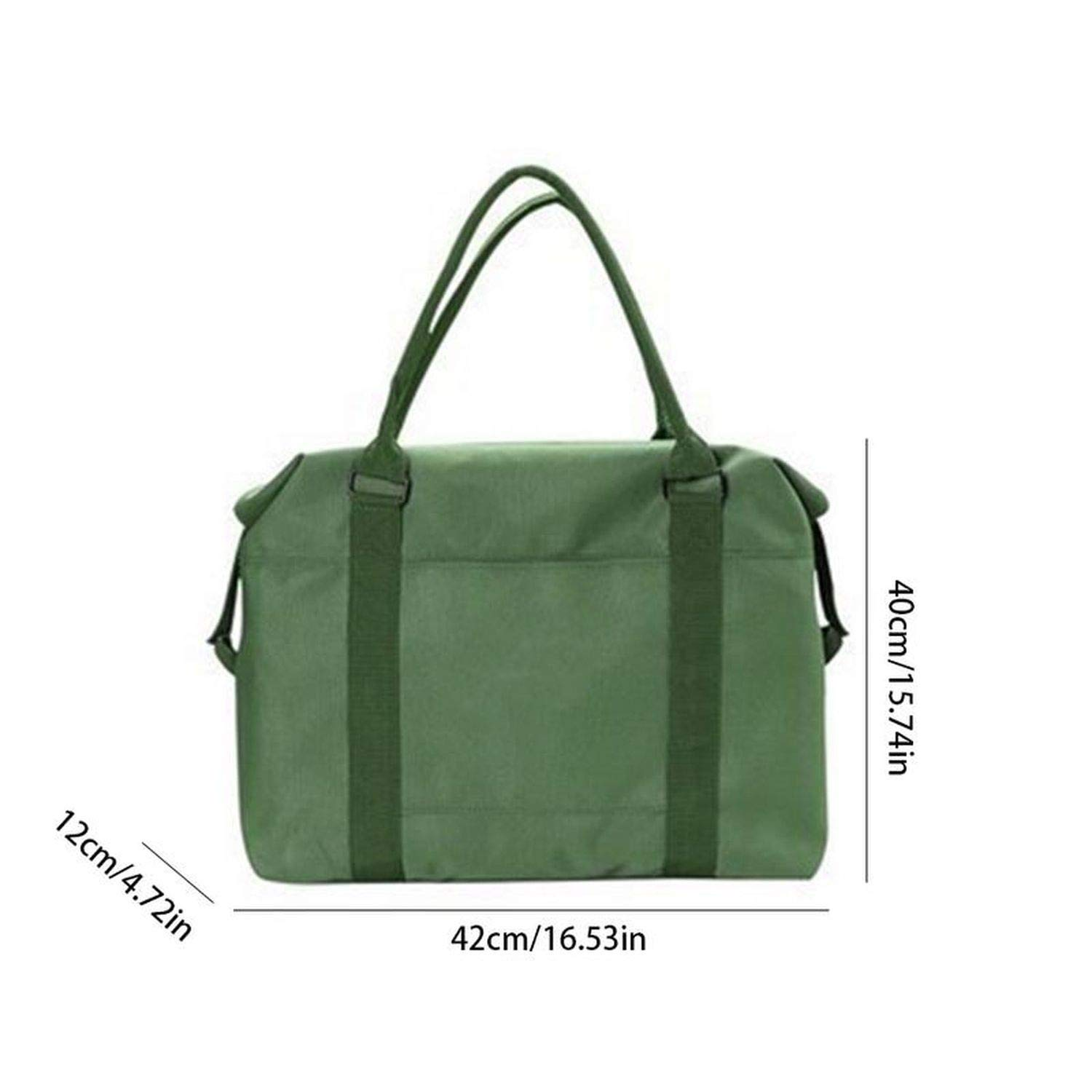Travel Storage Duffle Bag Shoulder Tote Trolley Hand Ladies Bags Travelling Overnight Bags And Luggage For Women Packing Cubes,Khaki