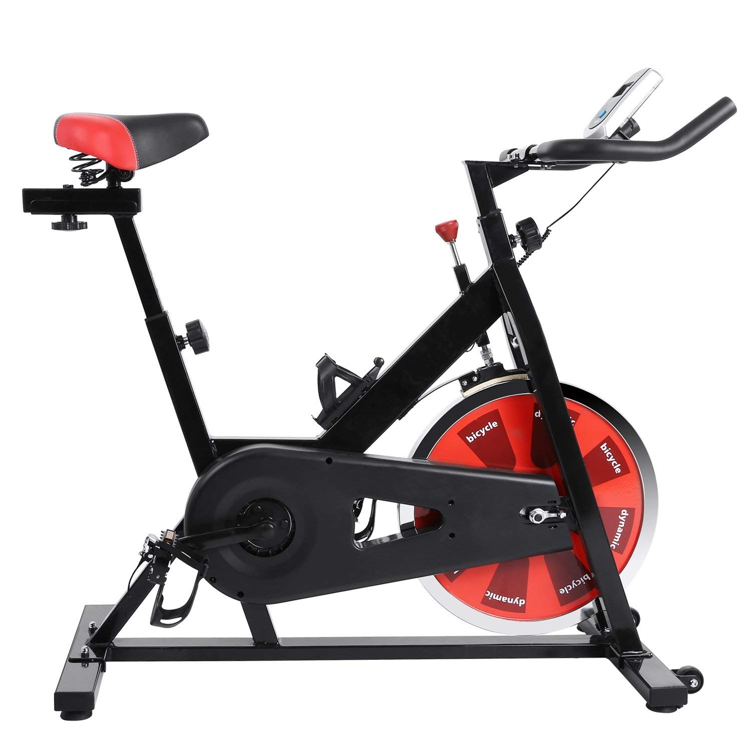 Ferty Belt Drive Indoor Cycling Bike with Monitor, Magnetic Cycling Trainer Exercise Bike for Cardio Exercise (US Stock) by Ferty