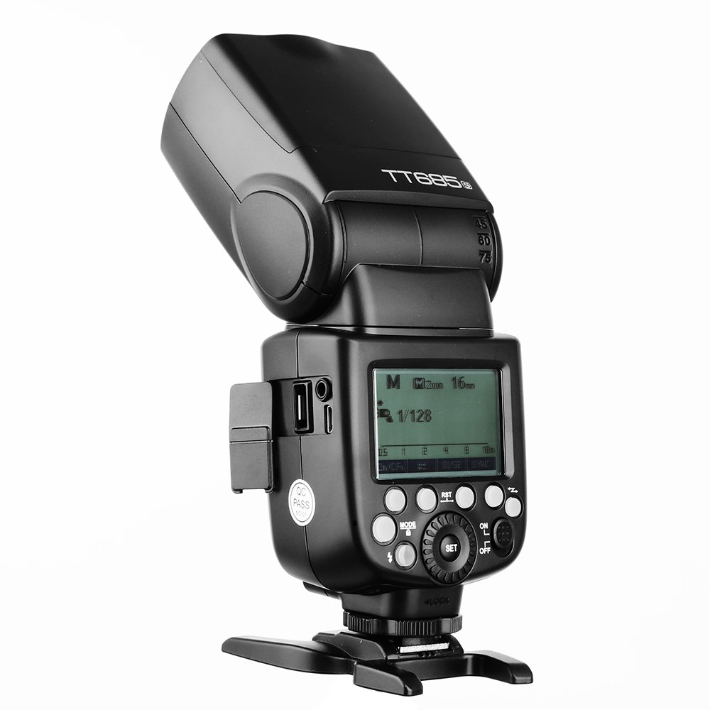 Godox TT685S 2.4G HSS TTL GN60 Flash Speedlite+ Xpro-S Trigger Transmitter Kit Compatible for Sony A58 A7RII A7II A99 A9 A7R A6300 by Godox (Image #9)
