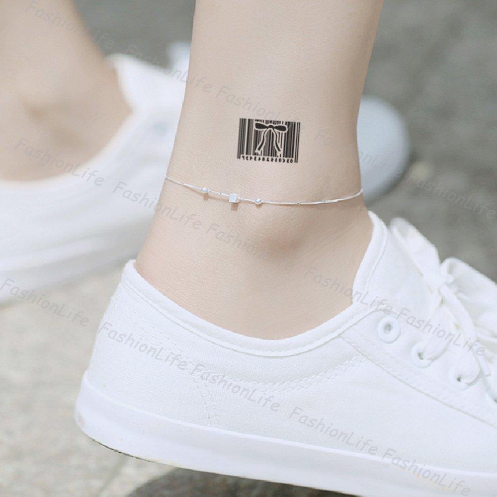 Arte Corporal Pegatinas Tatuaje removibles temporales Código de ...