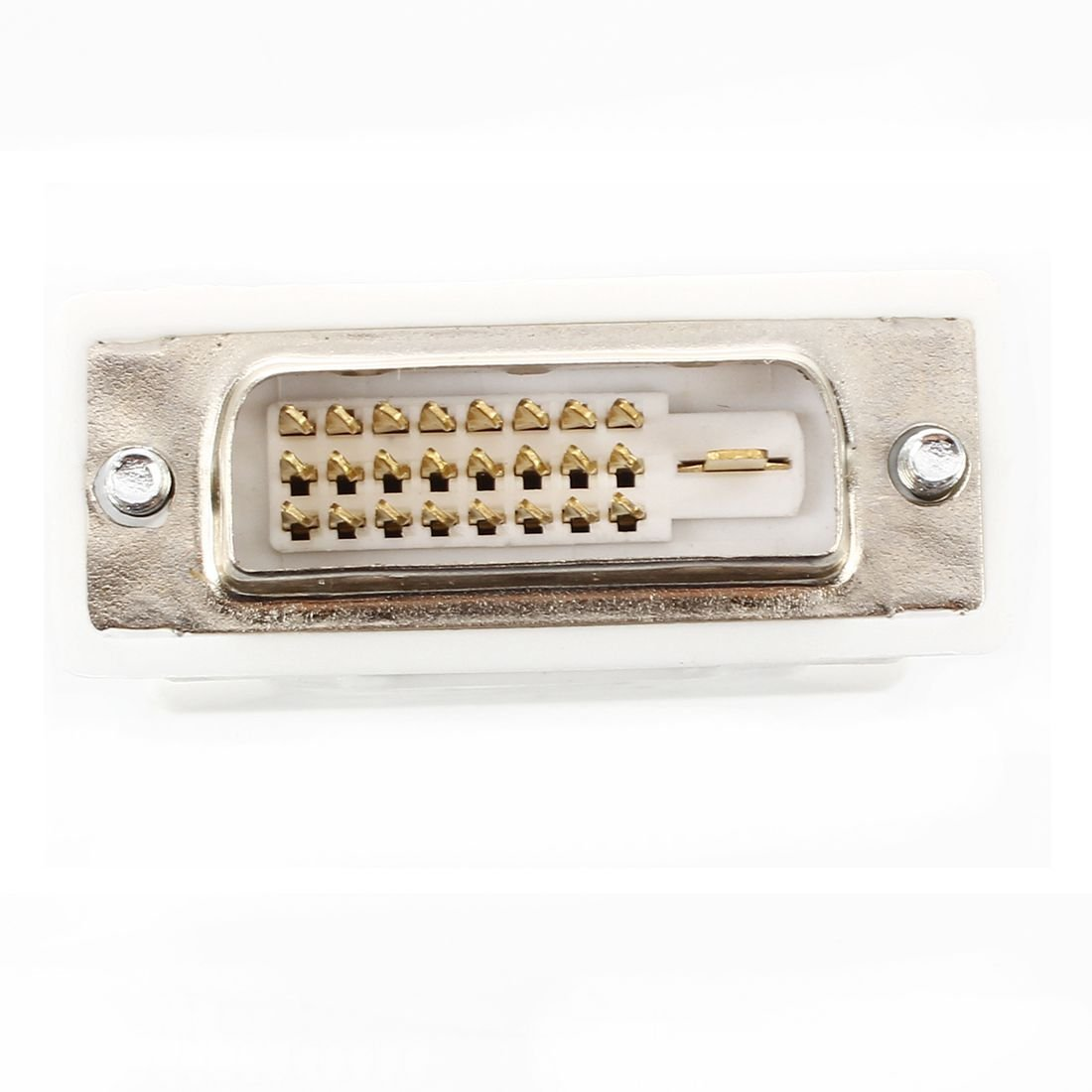 to female VGA Adapter DVI - D 24 1 15-pin SODIAL DVI male adapter R