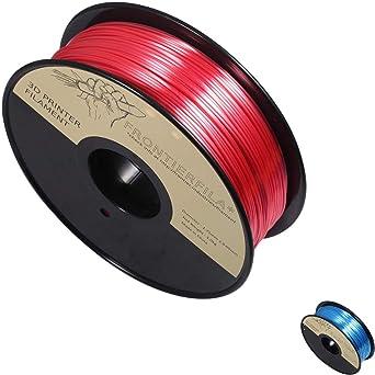 Seda rojo 1kg 1.75mm - Filamento para impresora 3D - FrontierFila ...