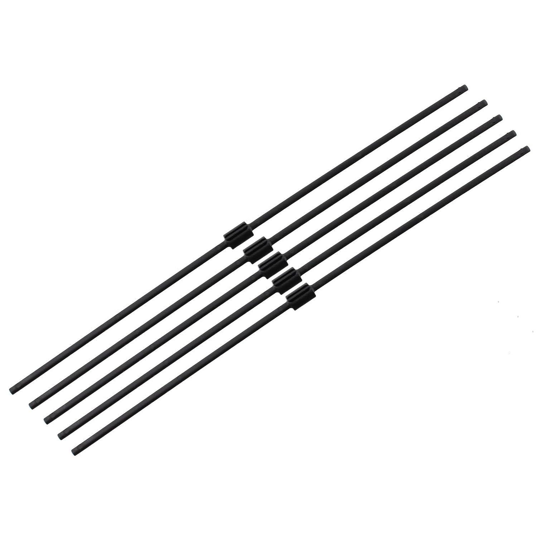 1600; confezione da 10 FLY024 Flymo aste tritafoglie ricambio originale per soffiatore aspiratore Gardenvac Plus 1500