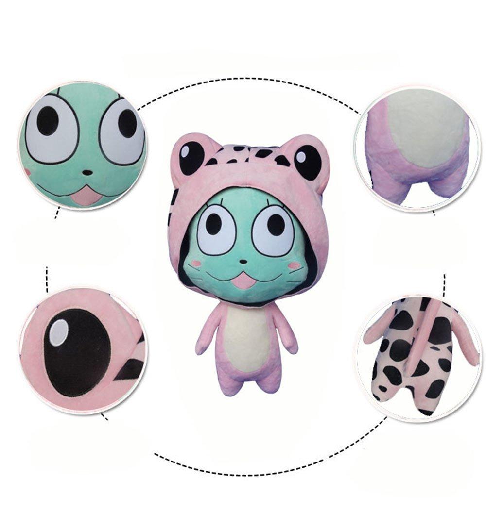 Rain's Pan Anime Fairy Tail Frosch Cosplay Plush Pillow Cushion Toy Dolls Pink 23'' by Rain's Pan Plush Toy Pillows (Image #4)