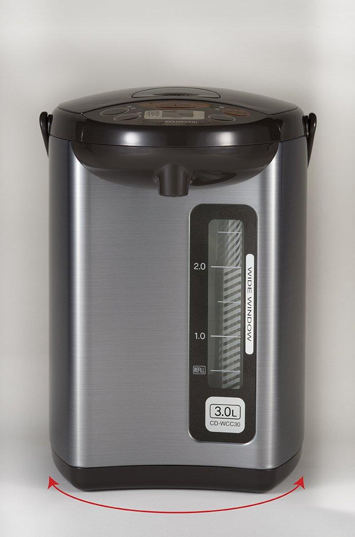 Zojirushi CD-WCC30 Micom Water Boiler & Warmer, Silver by Zojirushi (Image #4)