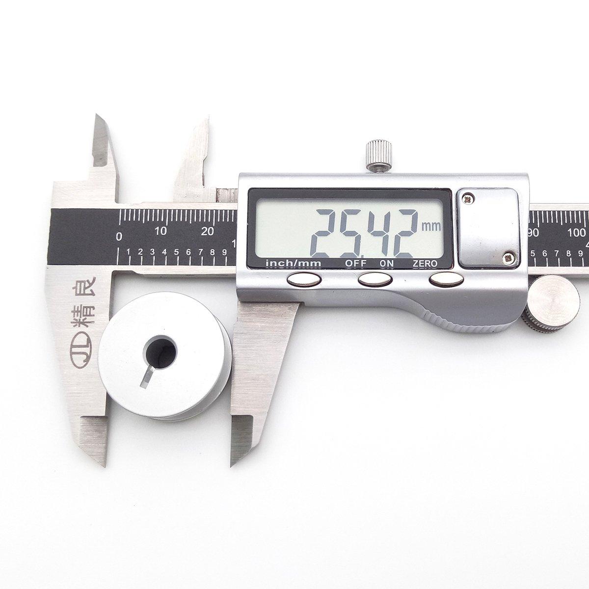 30 Husqvarna Viking Mega Quilter 18x8 Long Arm Quilting Machine,Handi Quilter,GAMMILL TIN LIZZIE QUILTER 30 pcs Aluminum Bobbins With Slot FIT For PFAFF QUILTER