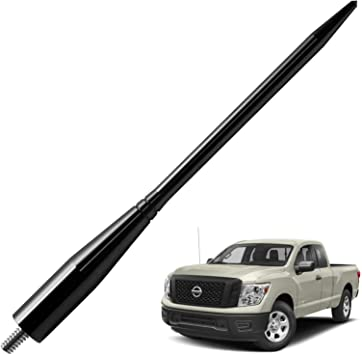 JAPower Replacement Antenna Compatible with Ford F-250 2009-2018 6.75 inches-Black