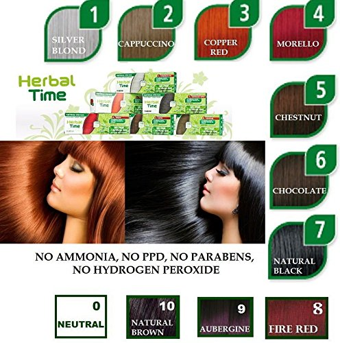 100% NATURAL HENNA COLOR CREAM HERBAL HAARFARBE