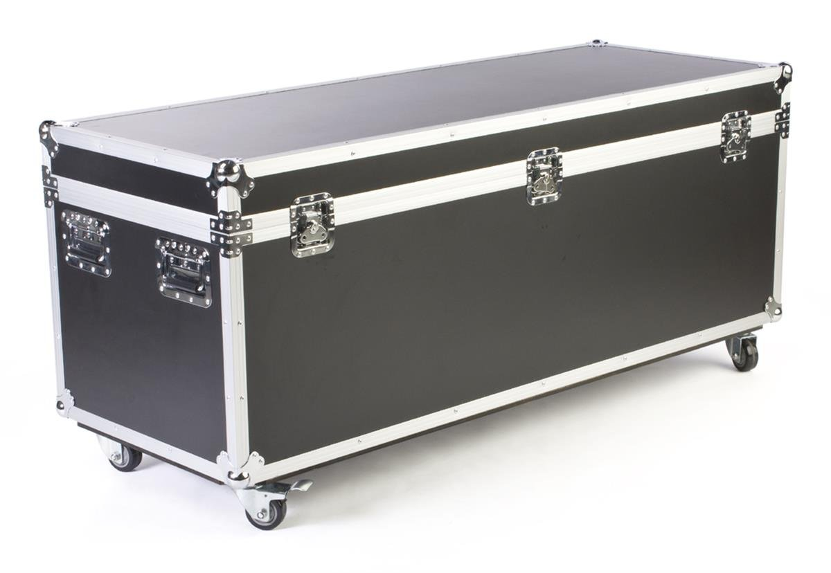 Trade Show Shipping Cases, Wheels, Wood, Fireproof ABS – Black Finish (WSC622323)
