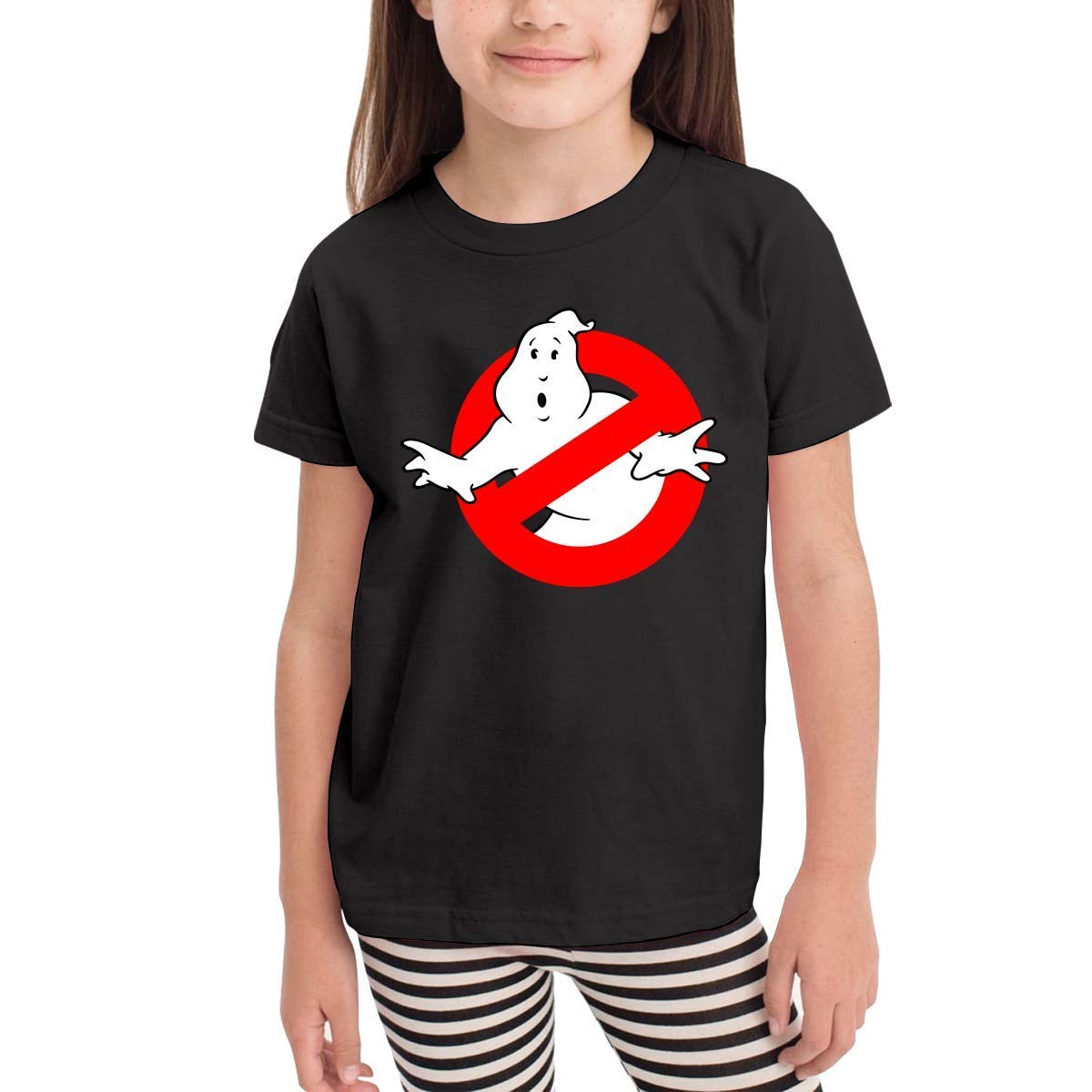 CXHKJ The Real Ghost Busters Kids Tee for Girls /& Boys Black
