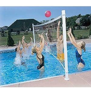 Amazon Com Dunn Rite Pro Volly Retrofit Pool Volleyball