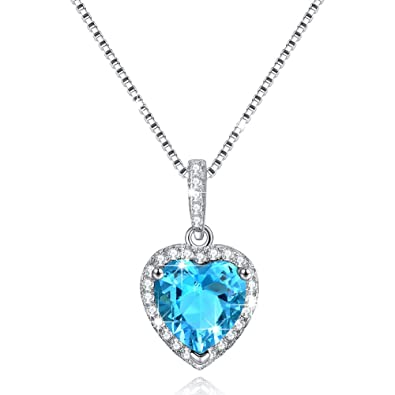 birthstone necklace to grandmother pendant necklaces heart front my belongs grandkids love grandma will