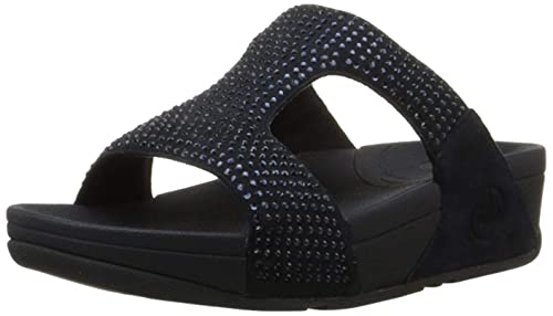 9c5b8862a3d Fitflop Women s Rokkit Slide Wedge Heels Sandals  Amazon.co.uk ...