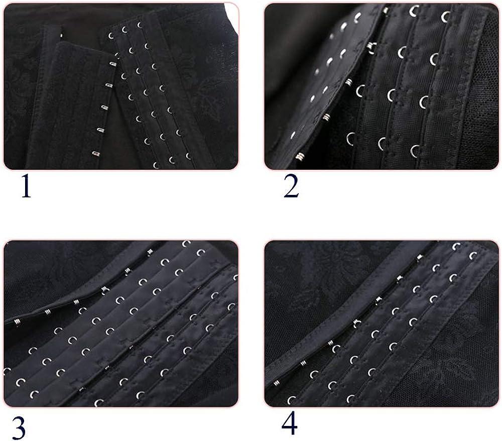 Bra Extender 7 Hook for Plus Size Pack of 2 Black/&Light Beige Corset Extender 7 Hook