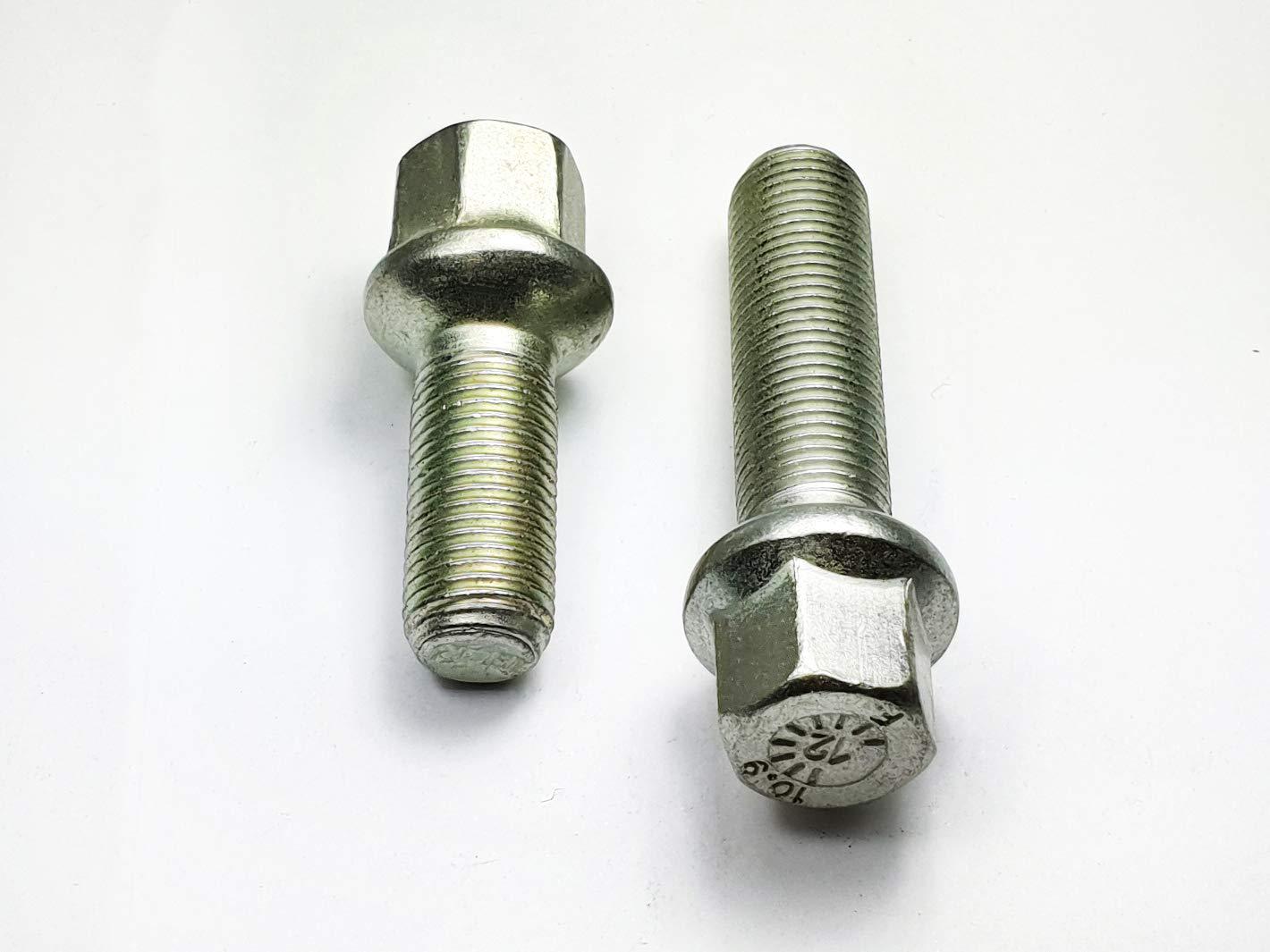 Gr/ö/ße: M14x1,5 40 mm Kugel R12 SONDERSCHRAUBE nicht passend bei ORIGINAL Felgen 20 Radschrauben Radbolzen M14x1,5 Kugel R12 d=24mm