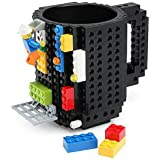 HATU Build-On Brick Mug (Black)