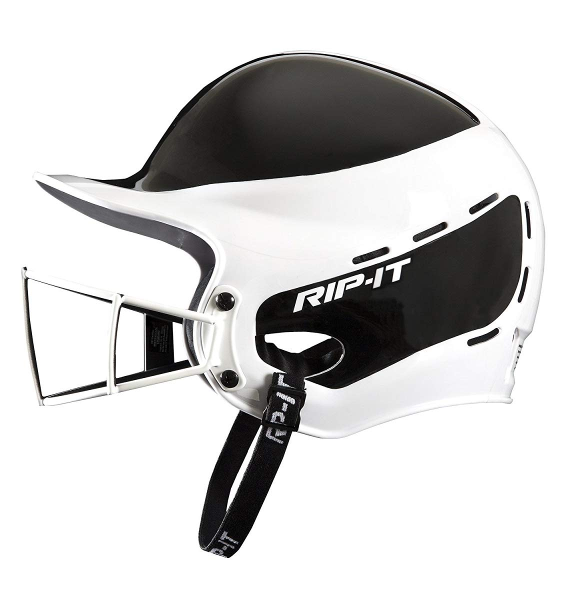 Rip-It Vision Pro Away Softball Batting Helmet (Away Black, Extra Large) by RIP-IT