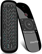 WeChip Mini Air Fly Mouse Remote 2.4G Motion Sensing Controller with Keyboard for Android TV Box/PC/TV