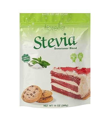 Fibrelle Fiber-Rich Stevia Sweetener para hornear, bolsa de ...