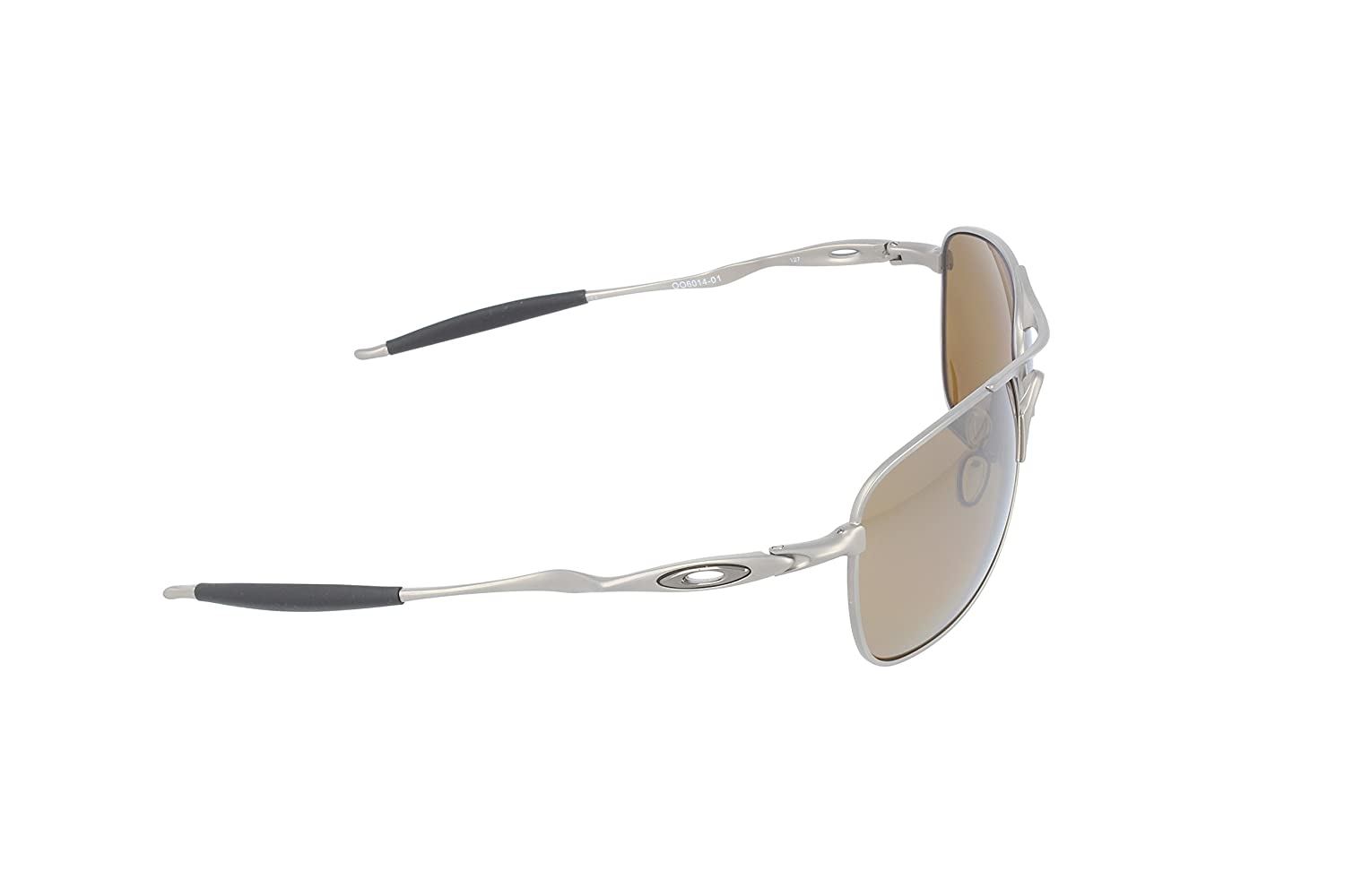 936330e7d2 Amazon.com: Oakley Titanium Crosshair Men's Polarized Sunglasses -  Titanium/Tungsten Iridium: Clothing