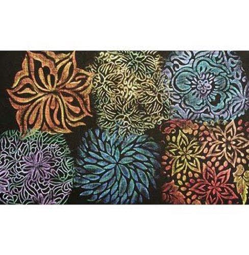 Cedar Canyon Textiles CCT4005 Artist's Paintstiks Rubbing Plates, Floral Fantasy, 6-Pack by Cedar Canyon Textiles