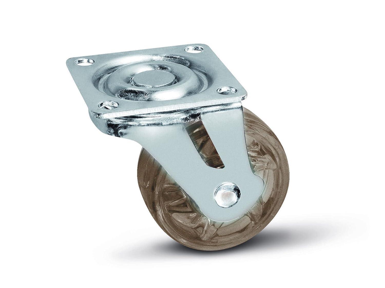 Roulette pour Meuble Shift Marron Ø 50 mm sans Frein SOTECH