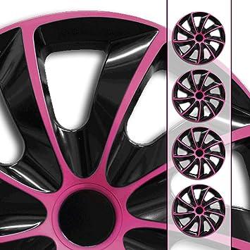 universal Gr/ö/ße w/ählbar Radzierblenden AGAT Pink passend f/ür fast alle Fahrzeugtypen 13 Zoll Radkappen