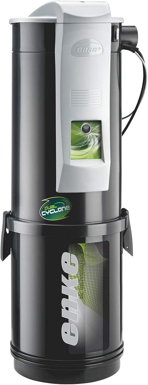 Aspirador Central enke Zyklon, 685 Airwatt, 1900 W de potencia, sin bolsa de filtro, filtro HEPA lavable.: Amazon.es: Hogar