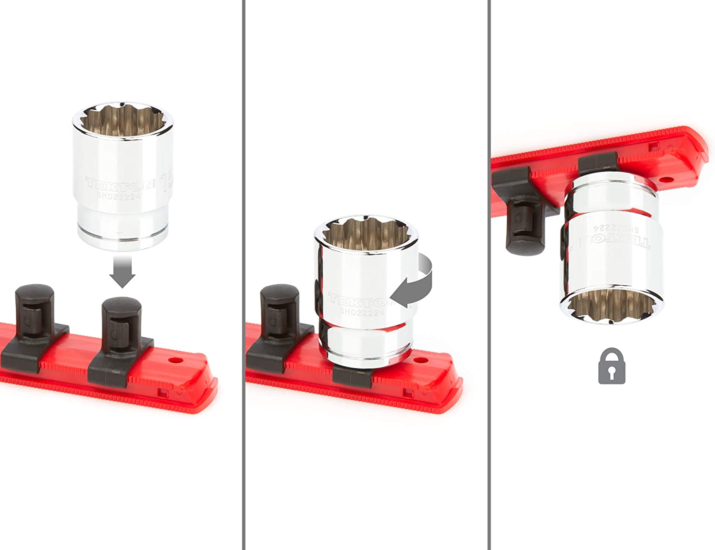 15//16-1-1//2 in. 10-Piece TEKTON 1//2 Inch Drive 12-Point Socket Set | SHD92111